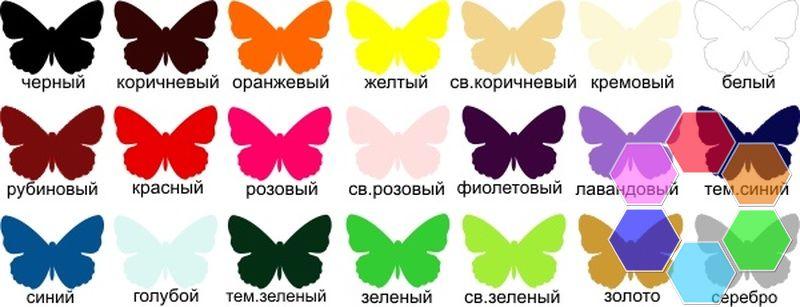 Бабочки из бумаги своими руками декор шаблон